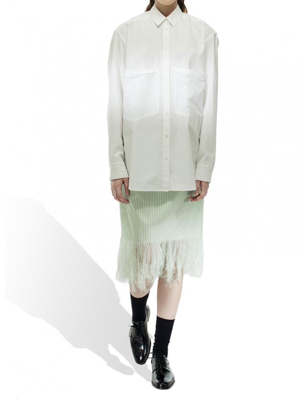Midi Taffeta Skirt