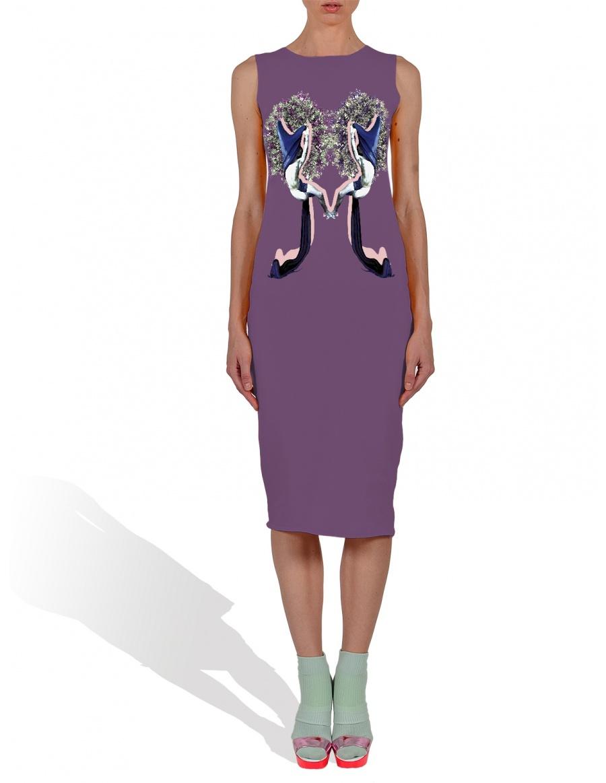 Midsummer Dream in Purple Tank Dress