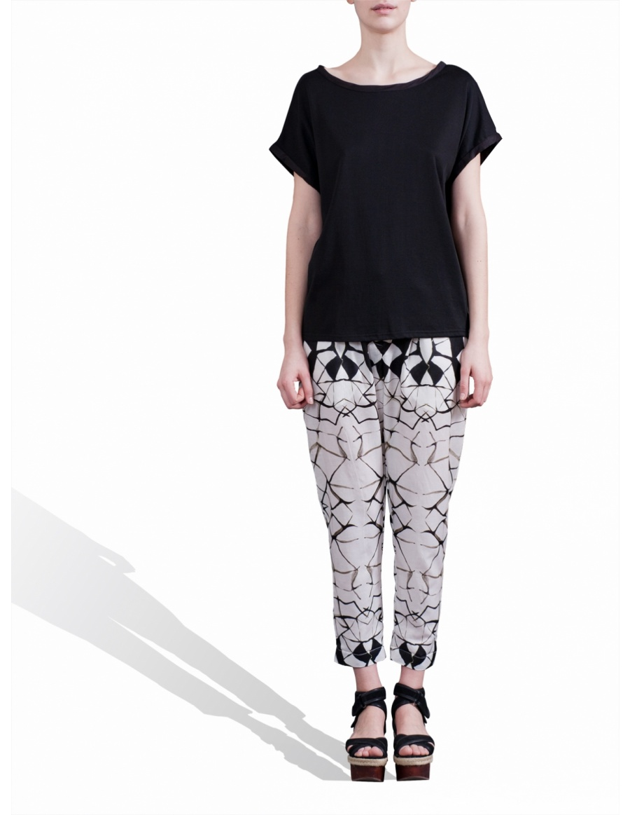 Digitally printed pants