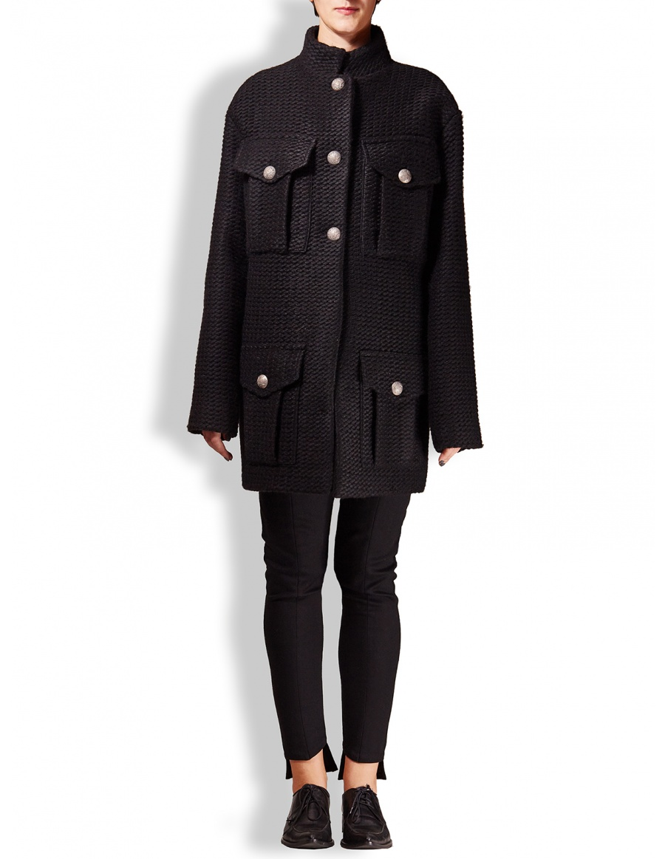 Short army coat