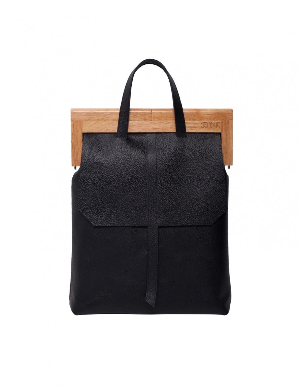 The black handbag
