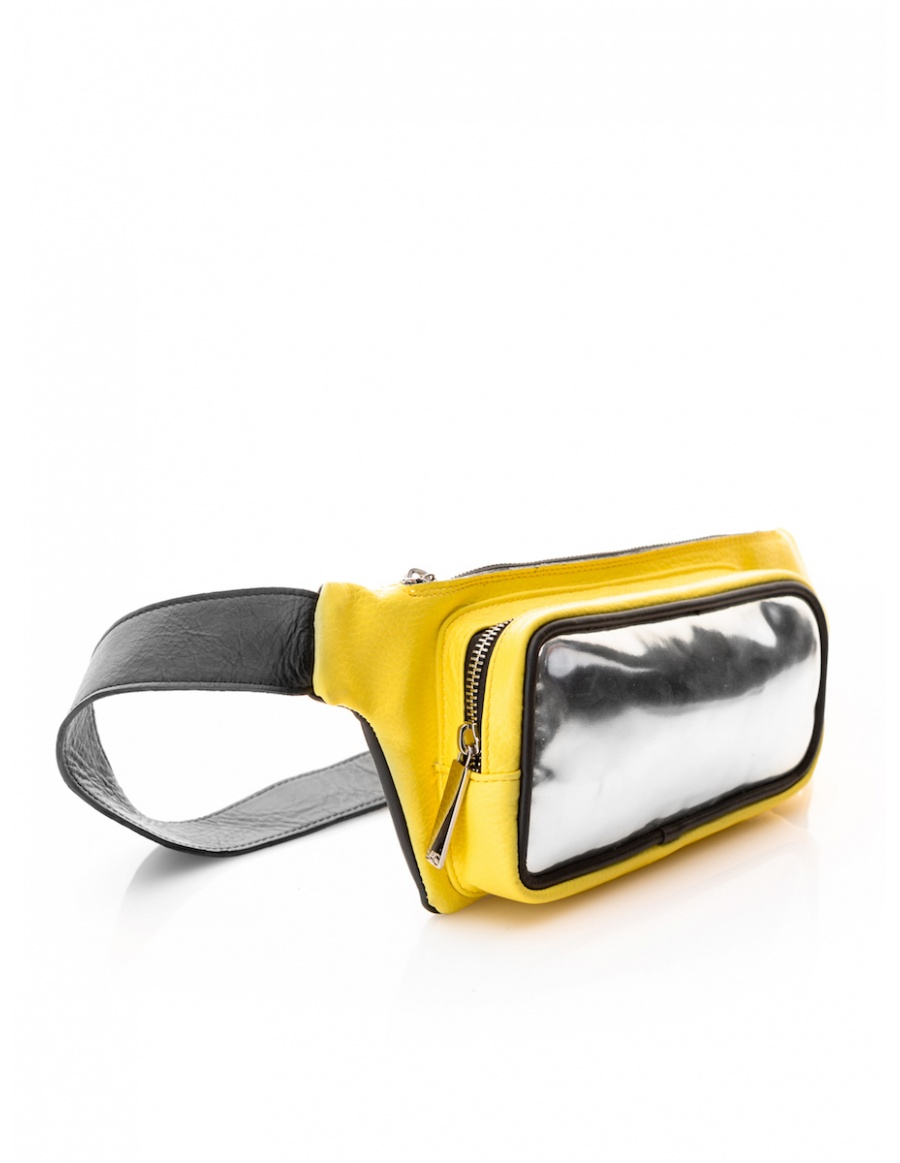 SAC waistbag Yellow Mirror
