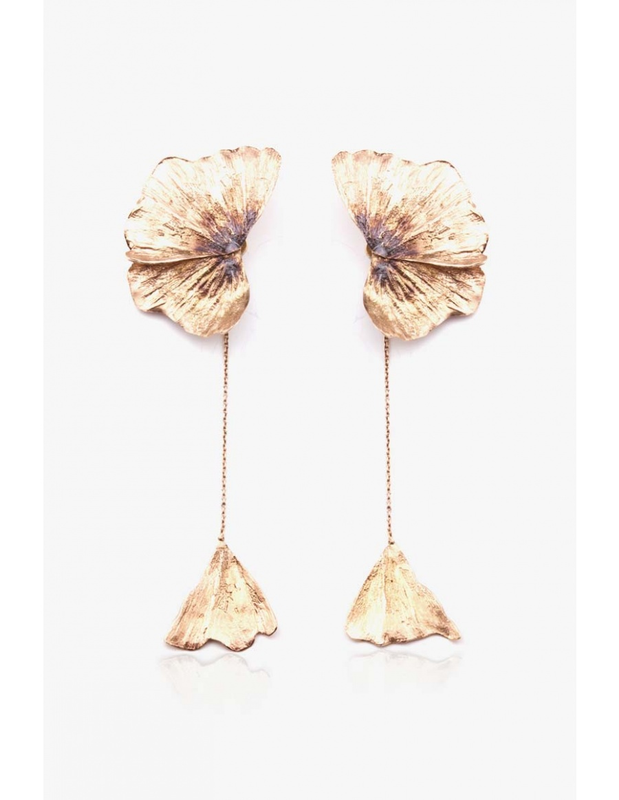 Earrings Gingko Bloom