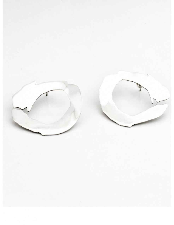 Circle Brush Earrings by Skindeep x Moogu