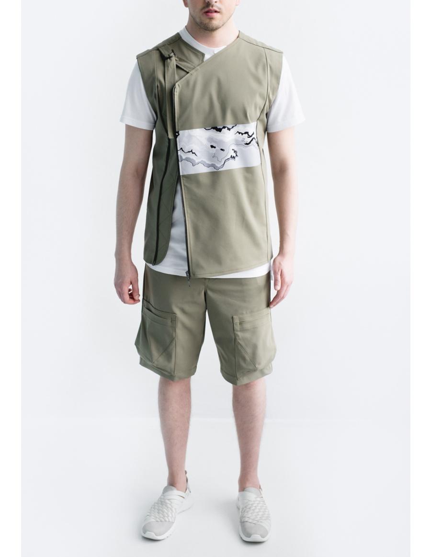 Asymmetric vest