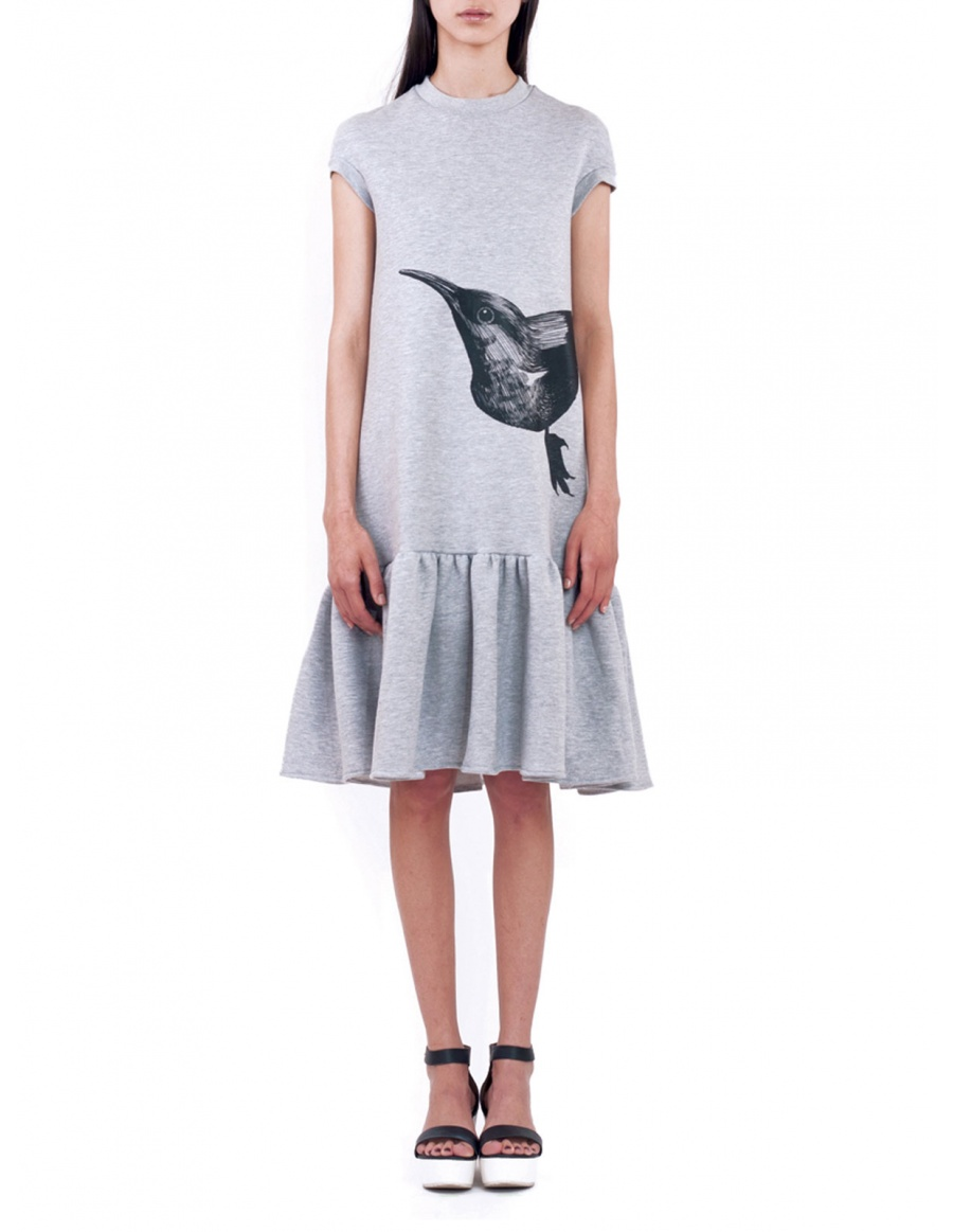 Daisy Grey Dress