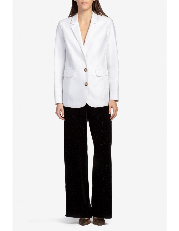 Classic linen white jacket