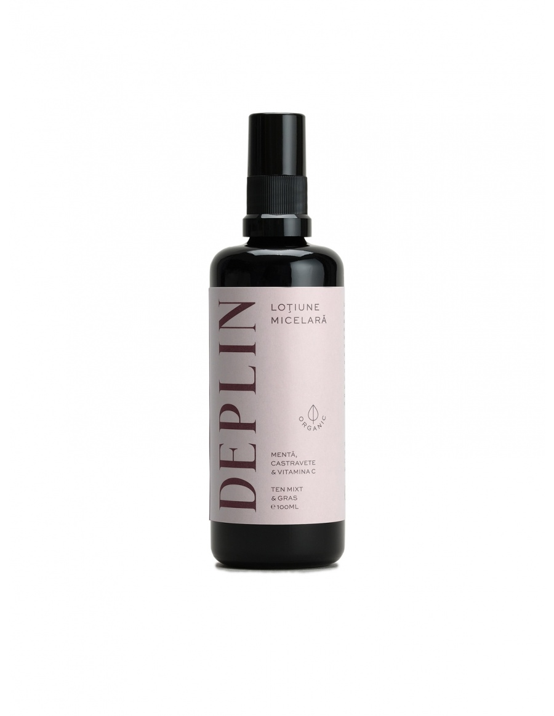Micellar lotion. Mixt & oily compexion