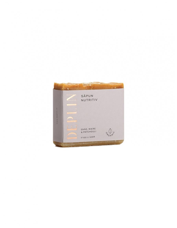 Nutricious soap. Oat, honey & patchouli