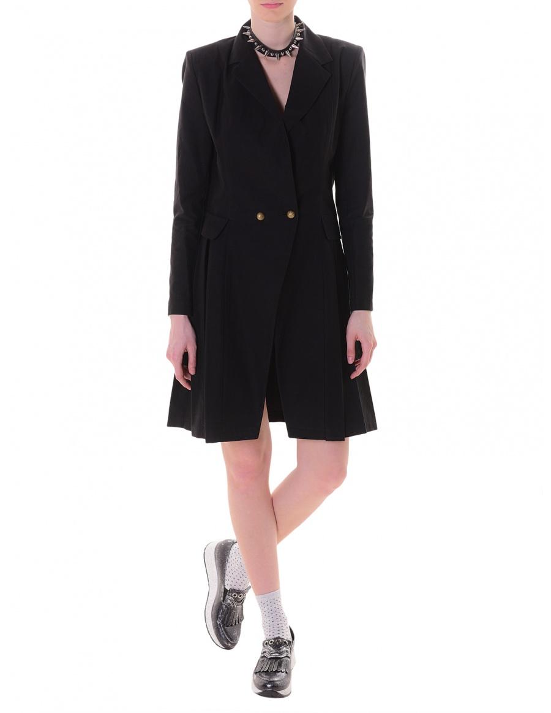 Blazer dress in black