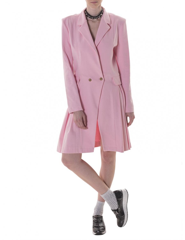 Blazer dress in pink
