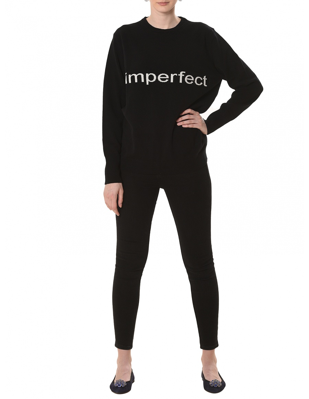Sweater #imperfect Black