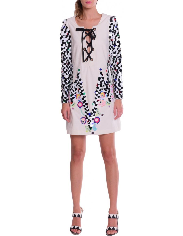 Jean luxe dress