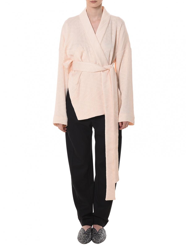 Asymmetric kimono