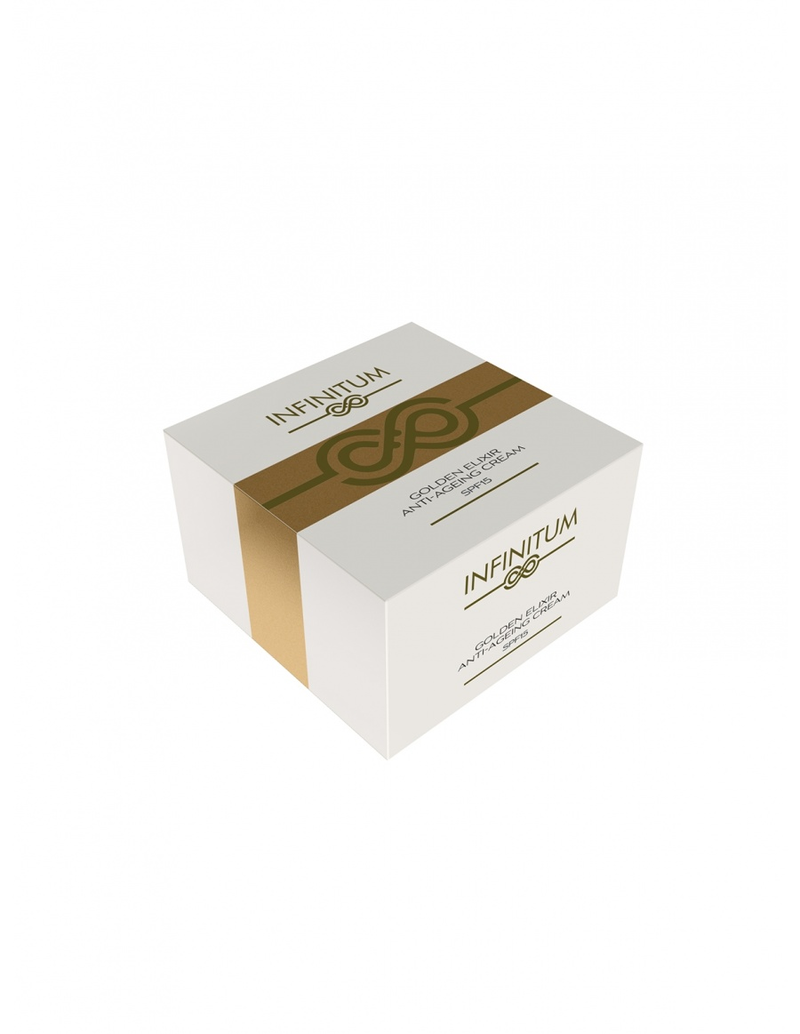Day cream Golden anti-ageing elixir
