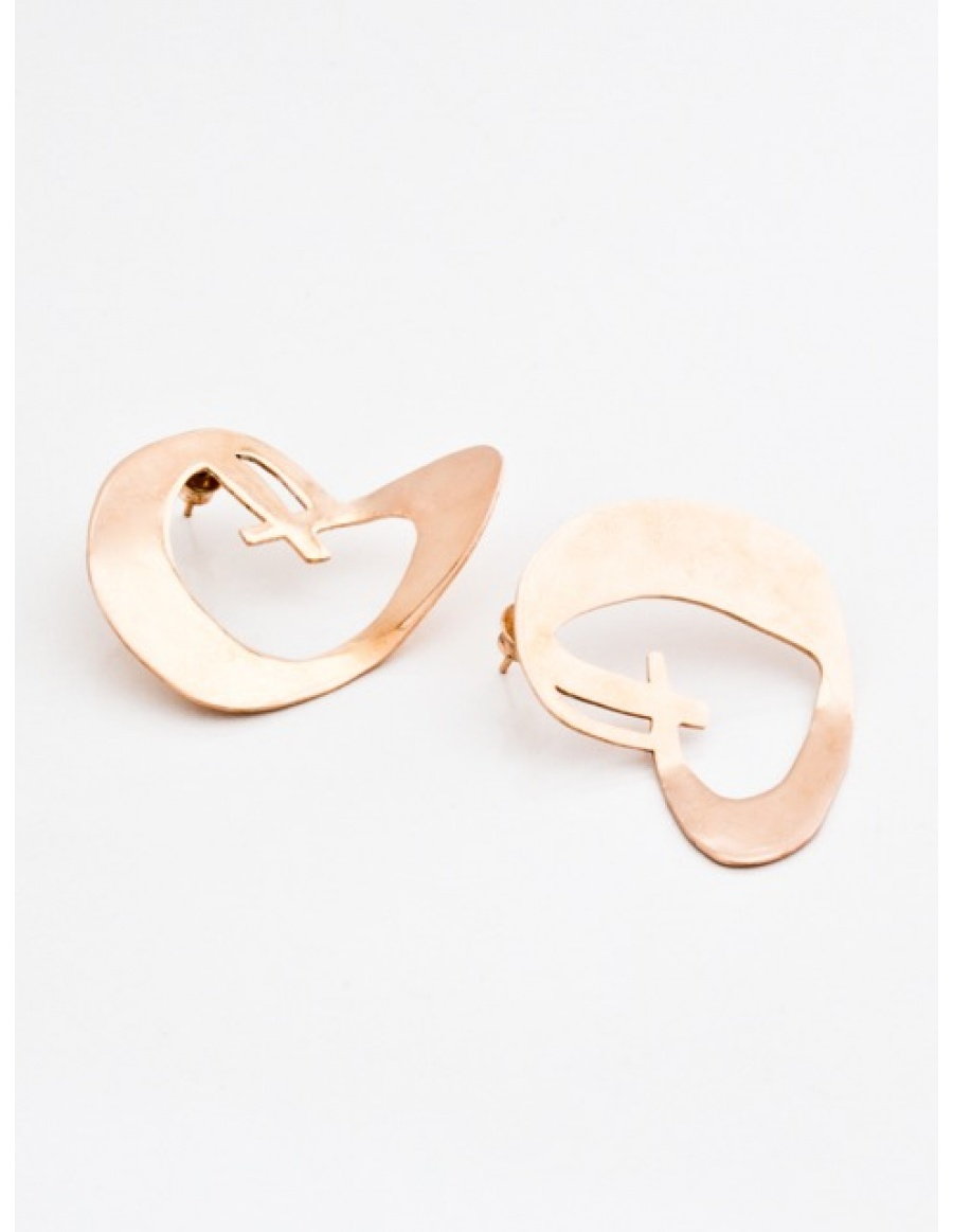 Heart Earrings by Skindeep x Moogu
