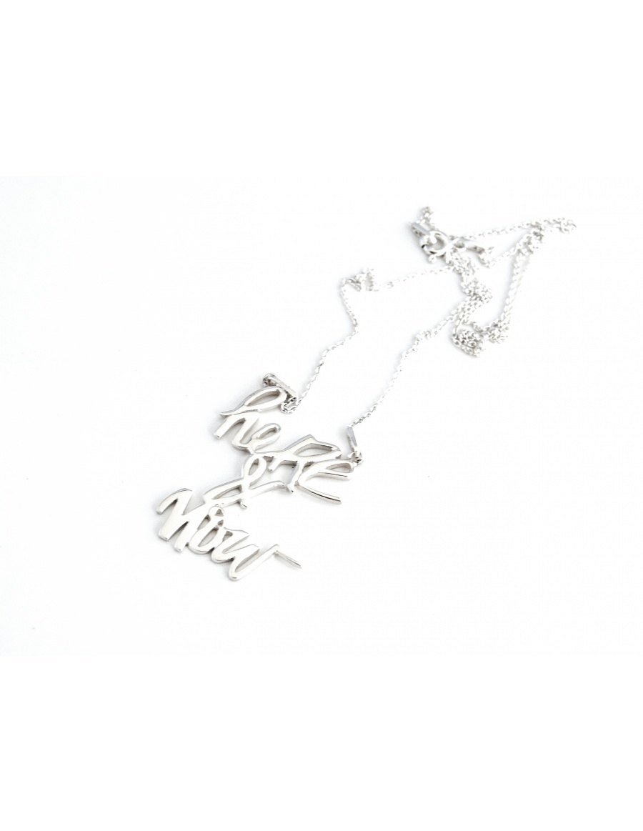 Skin Deep Here&Now silver necklace