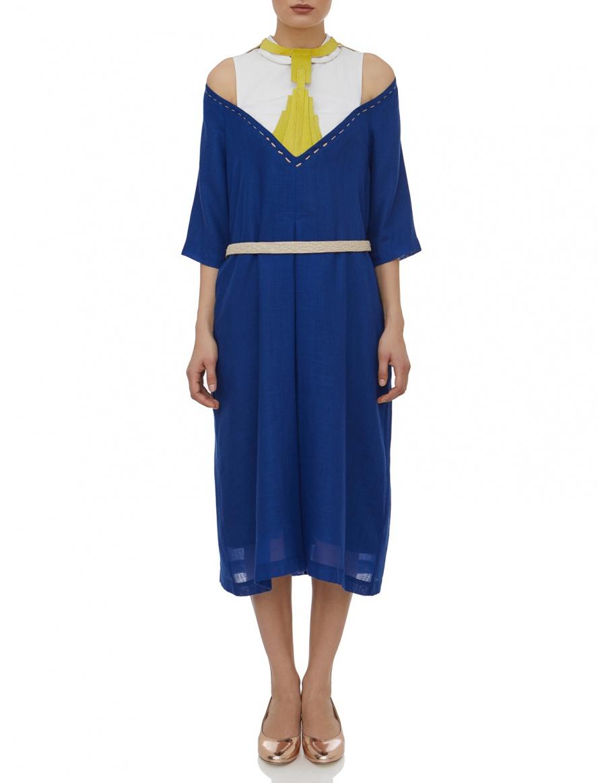 Navy-Blue Tamar Dress