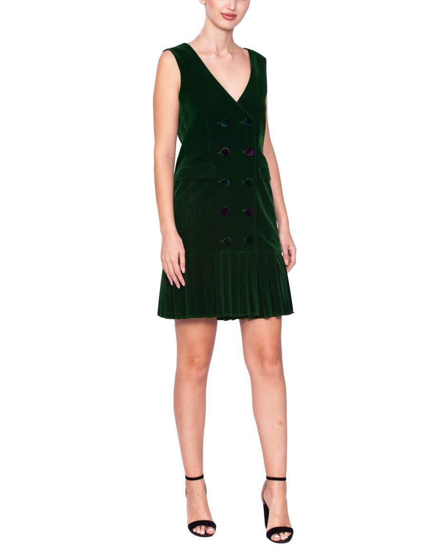Blazer velvet dress