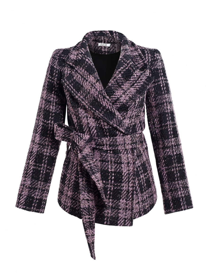 Checked Robyn Jacket with Pockets