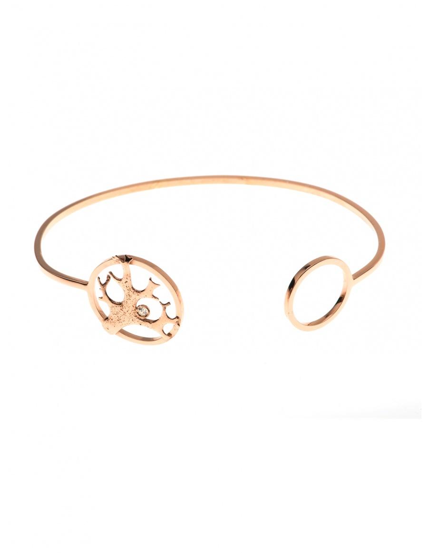 Lichen Shape Bracelet