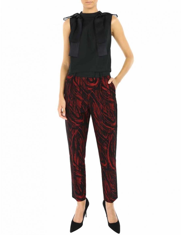Pantaloni Maddison | Framboise | Molecule F