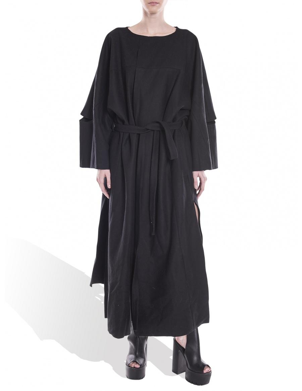 Robe-type coat