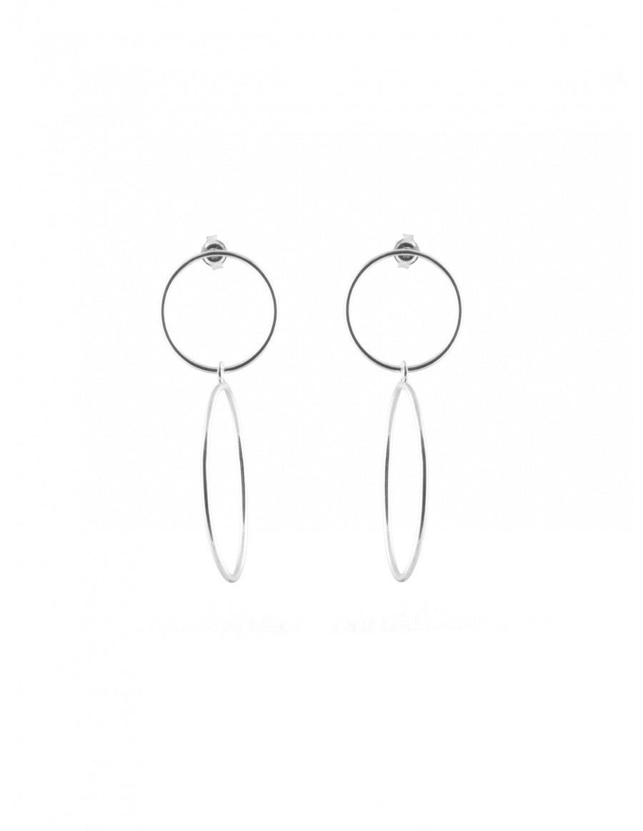 Empty Circles Earrings