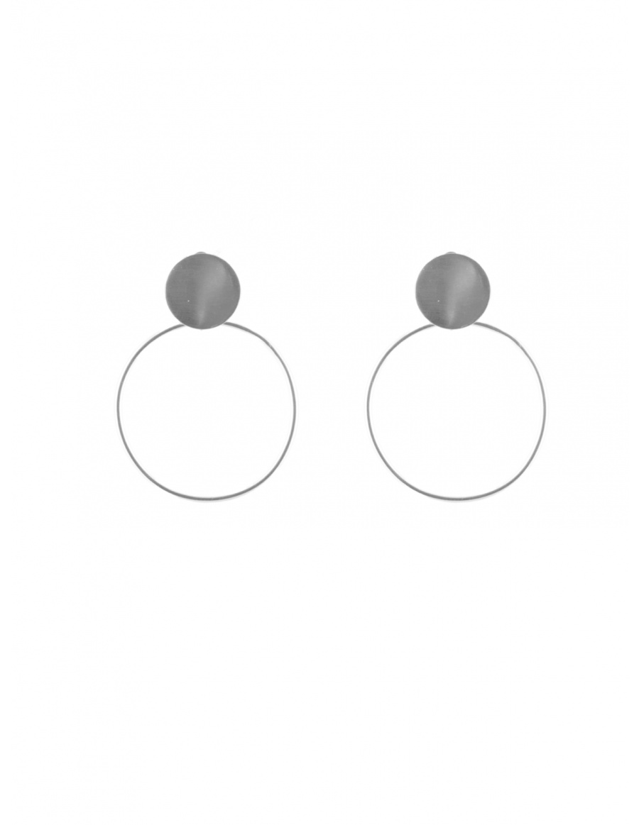 Double Circled Earrings