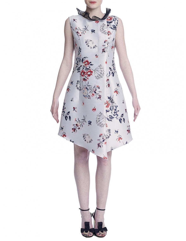 Midi asymmetrical dress