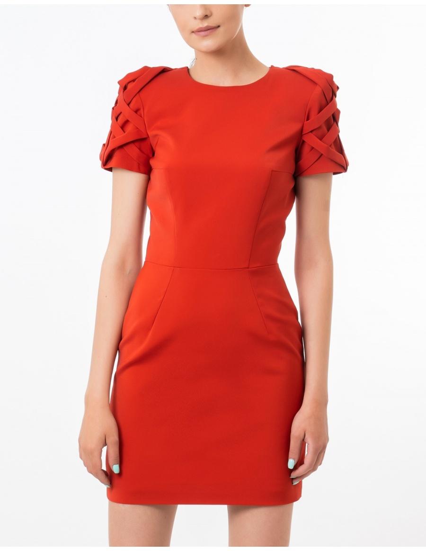 Mini Red Moon dress