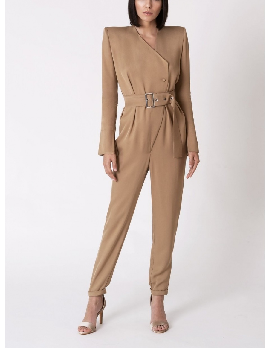 Reflections Beige Jumpsuit