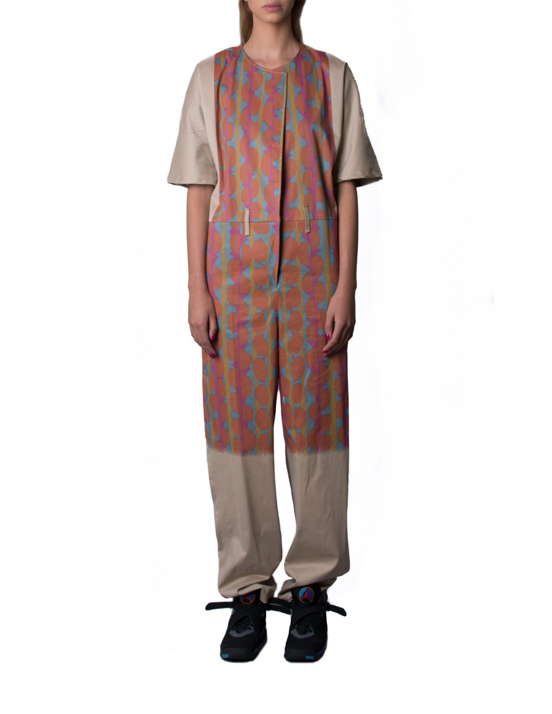 Digital print jumpsuit