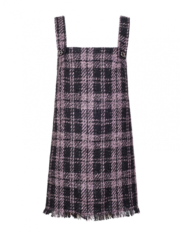Shannon Dress cut from Plaid Felt