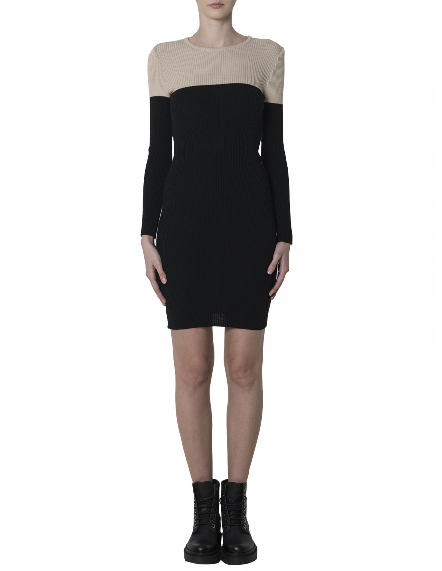 Minimalist Bicoloured Dress