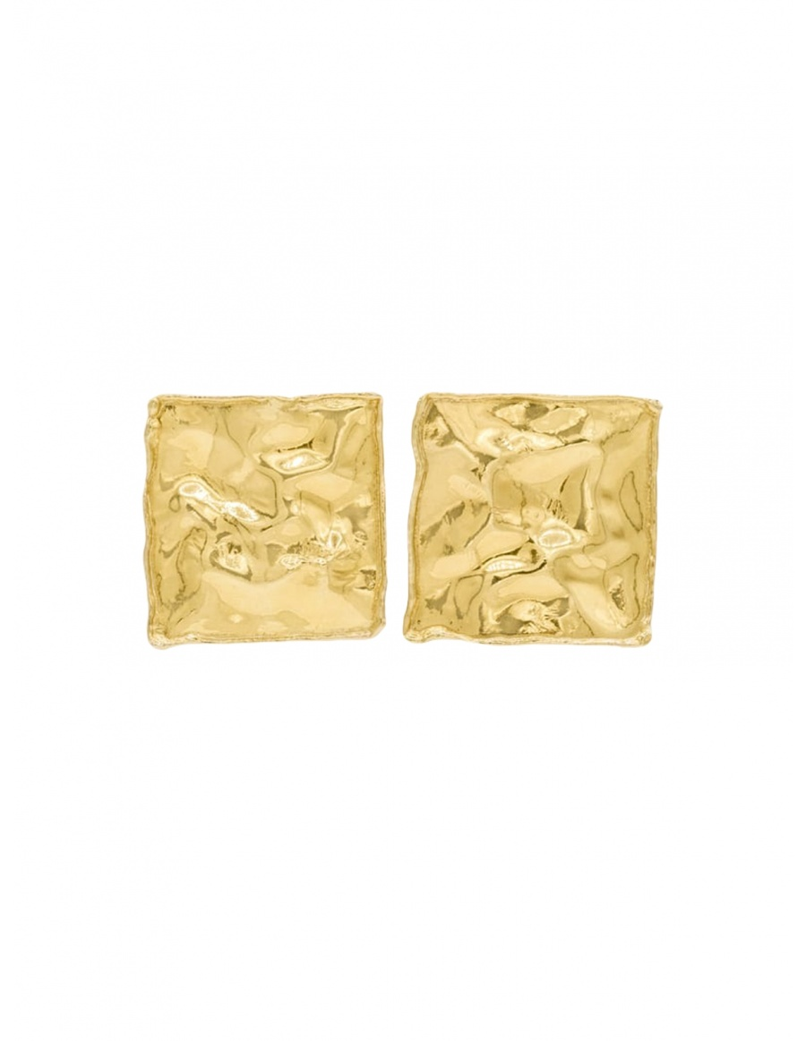 Square Coin Earrings