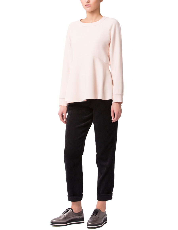 Pastel Crepe Sweatshirt