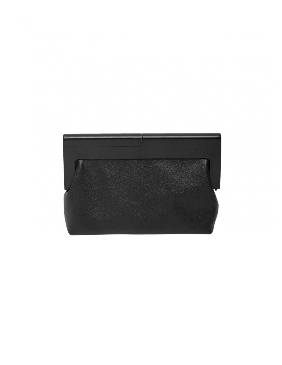 The all black clutch