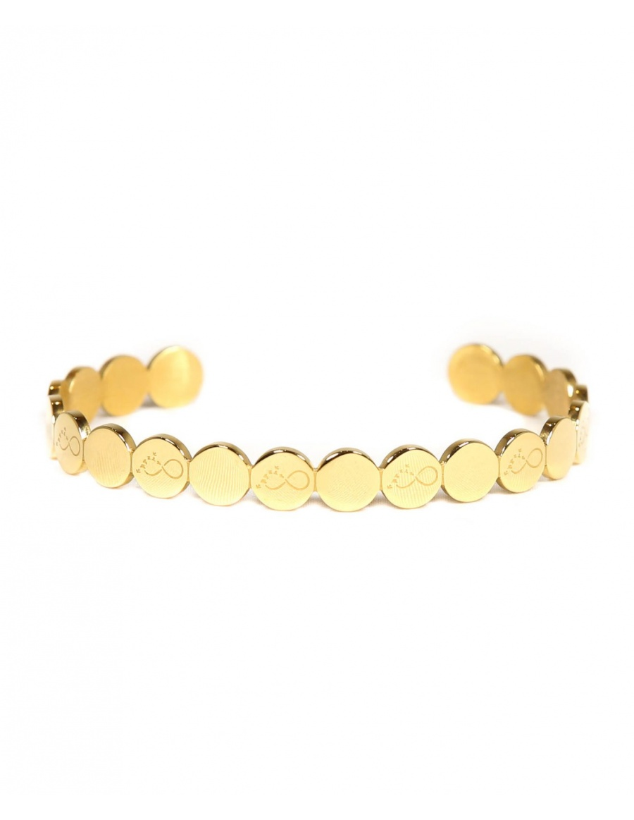 To Infinity and Beyond Bracelet - gold