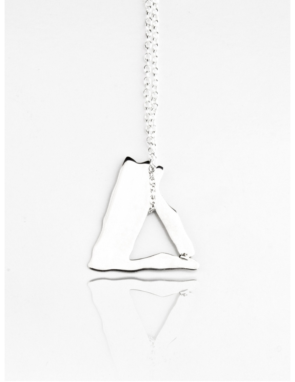 Triangle Necklace by Skindeep x Moogu