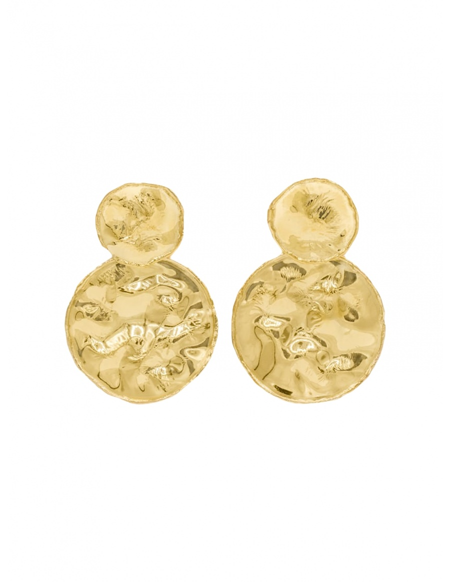 Two Coins Earrings