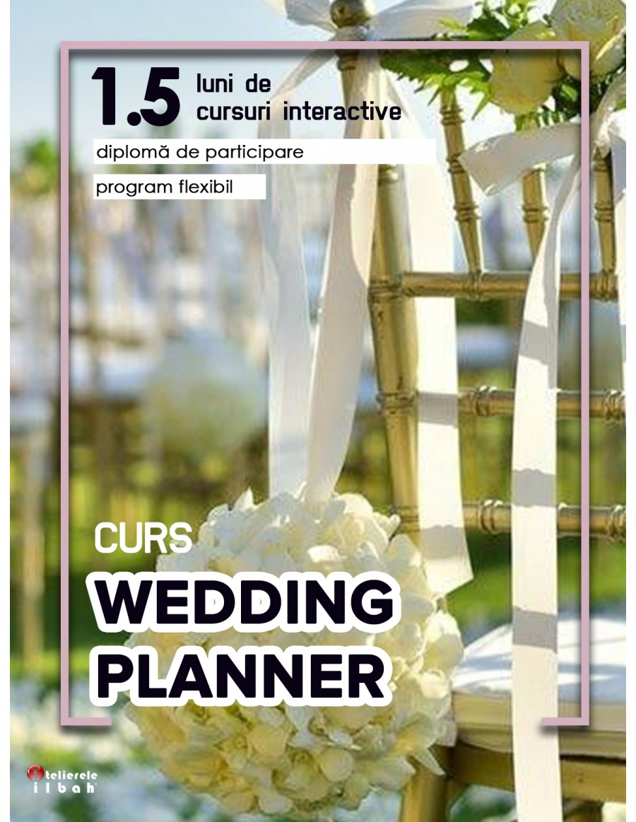 Curs Wedding Planner