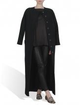 Pencil trench coat