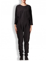 Black cloth jumpsuit