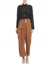 Asymmetric trousers