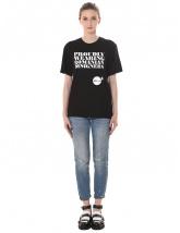 Black T-shirt Molecule F