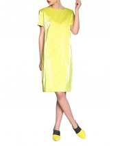 Wet look dress | Silvia Serban