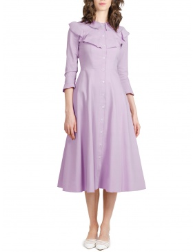 Geena Lilac Dress | Pulse