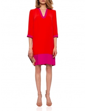 H-line dress with contrasting details | Nissa