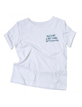 WET white T-shirt